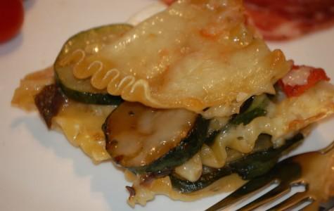 Zucchini and Goat Cheese Lasagna