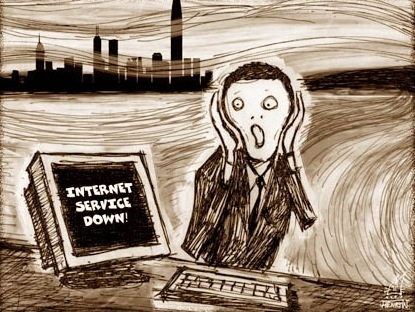 Resultat d'imatges de no wifi panic