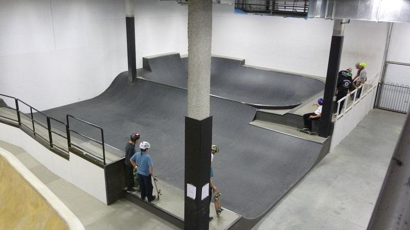 Big Skateboard Event in Montréal