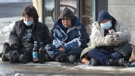 Homeless People Left Alone in Quebec